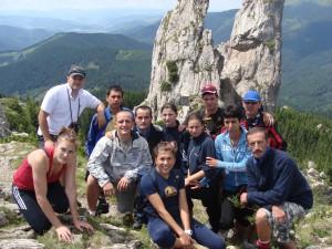 Pietrele Doamnei - Munții Rarău 2010