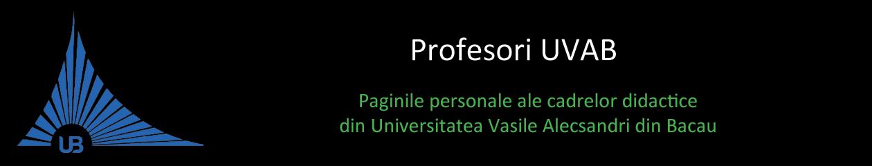 Profesori UVAB
